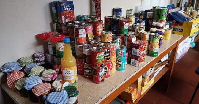 Pop-Up Food Bank