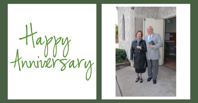 Happy 42nd Anniversary to our Pastors! image