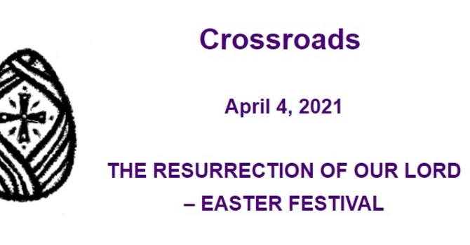 Crossroads April 4, 2021 image