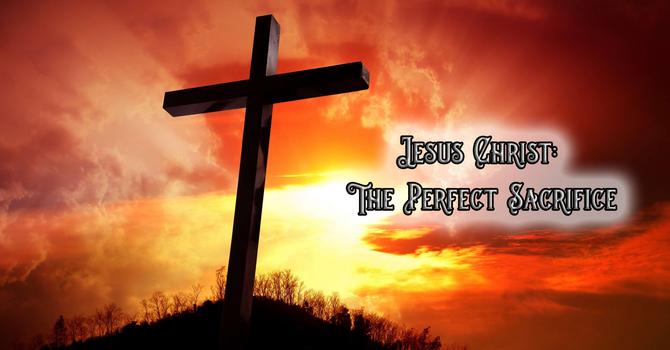 Christ the Perfect Sacrifice