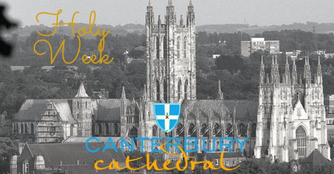 Holy Week from Canterbury: Easter Vigil