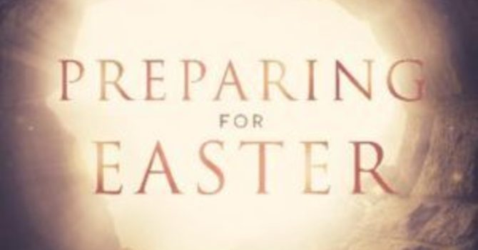 Preparing for Easter - 5