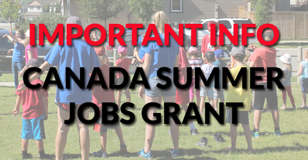 Summer Jobs Grant Info