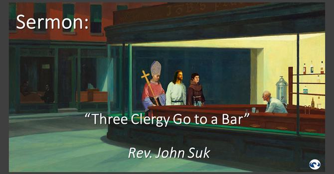 Three Clergy Go to a Bar