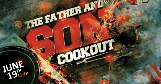 Father & Son Cookout