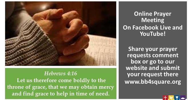 Online Prayer 3/10/2021 image
