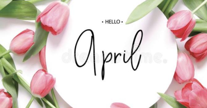 April Appreciations image