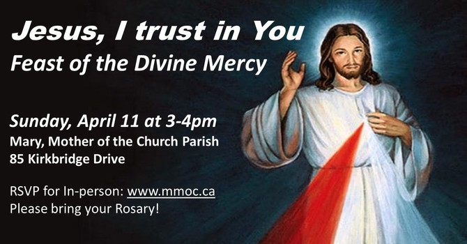 Feast of the Divine Mercy Celebration  image