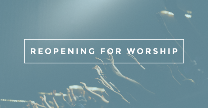 In Person Worship Update image