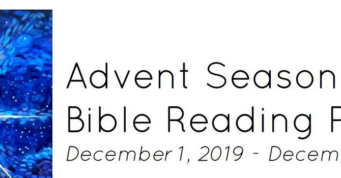 Advent 2019 Reading Plan image