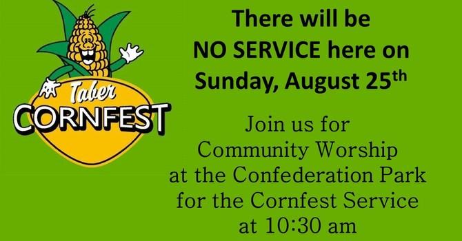 Cornfest Service image
