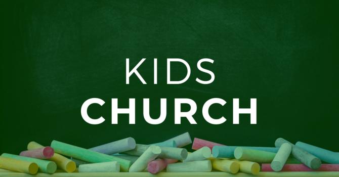 Kids Church Update image