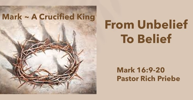 From Unbelief to Belief
