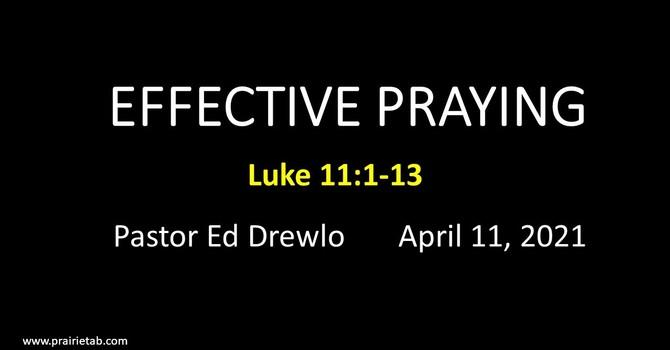Effective Praying