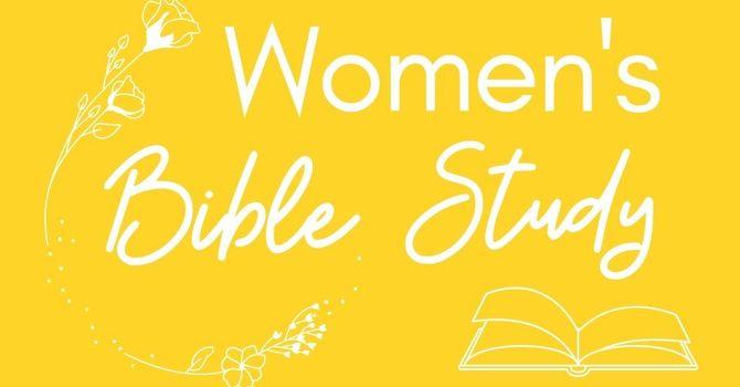 Women's Bible Study Begins image