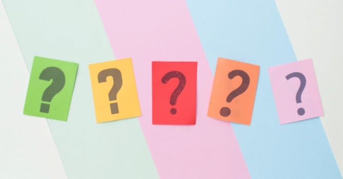 5 Questions Regarding Prayer