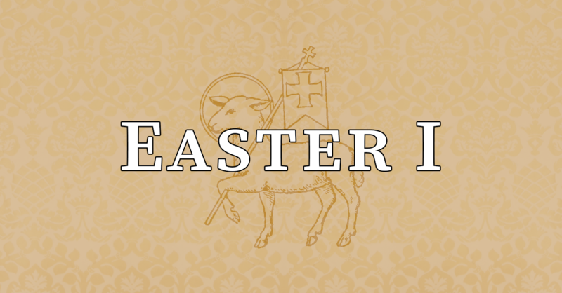 Octave Day of Easter, 10:00 A.M.