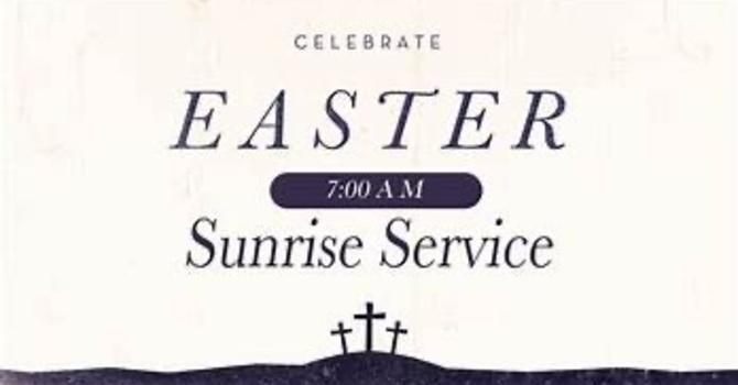 Sunrise Service 2021