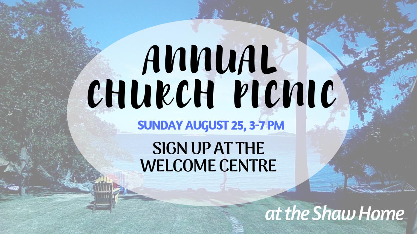 Annual Church Picnic | Oceanside Community Church