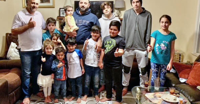 Anglican Church Helps to Reunite Syrian Brothers