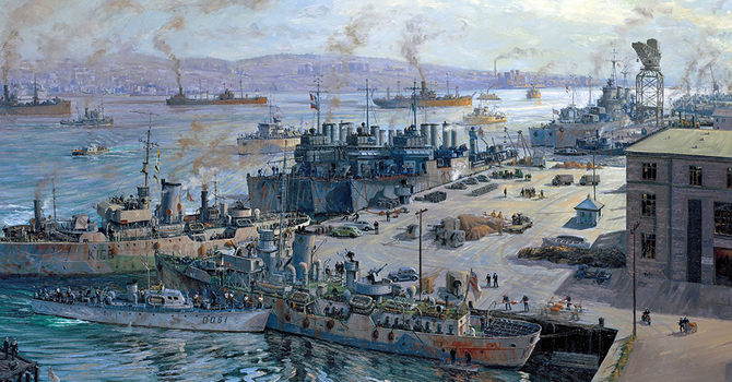 Honouring those who served in the Battle of the Atlantic
