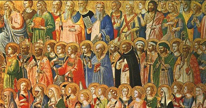 The circulation of the saints