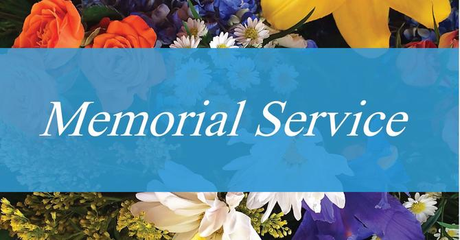 Memorial Service for Ruth Reilly