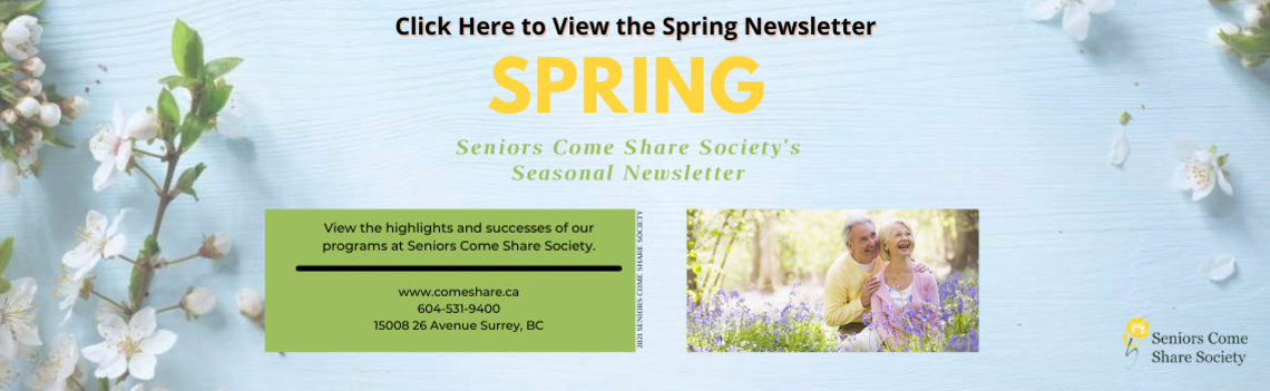 Seniors Come Share Society