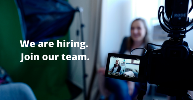 We are Hiring a Summer Position: Video Production Team Leader  image