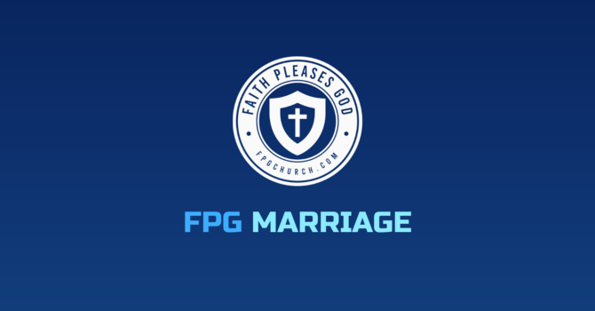 FPG Marriage Ministry