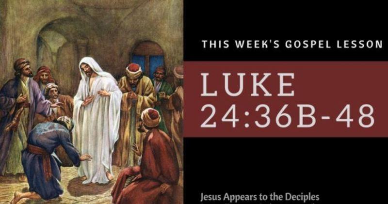 Easter 3B April 18, 2021
