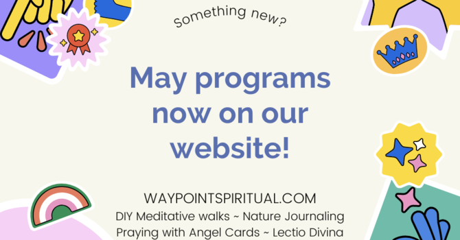 Check out our May programs! image