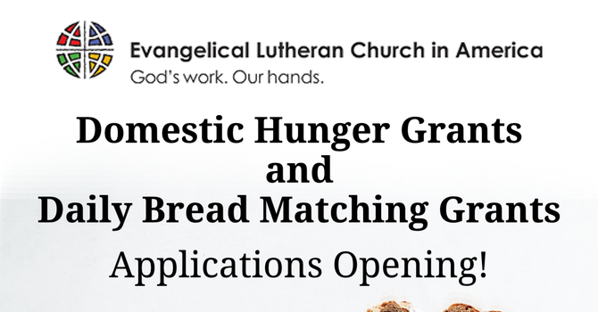 Two Upcoming Grants to End Hunger image