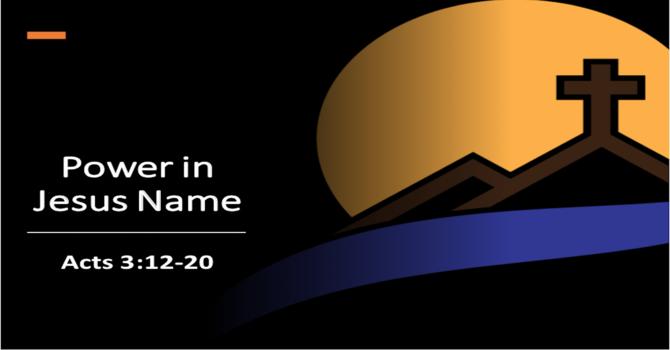 Power in Jesus Name
