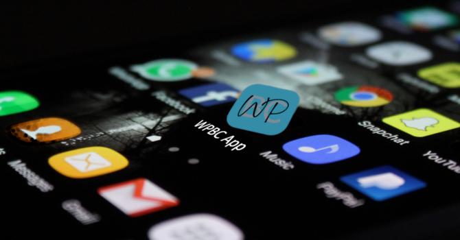 WPBC Smartphone App image