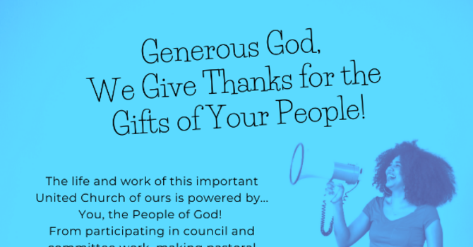 WE GIVE THANKS! image