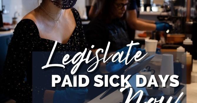 Legislate Paid Sick Days image