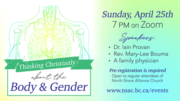 Thinking Christianly about the Body and Gender