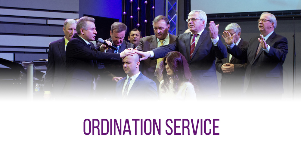 Ordination Service, April 18, 2021