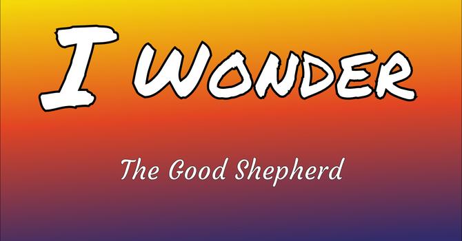 I Wonder #1  --  The Good Shepherd image