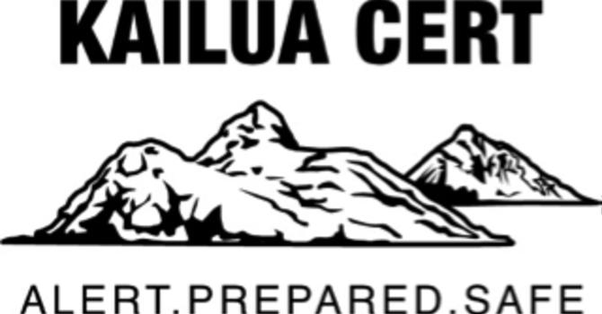 Kailua CERT Meeting