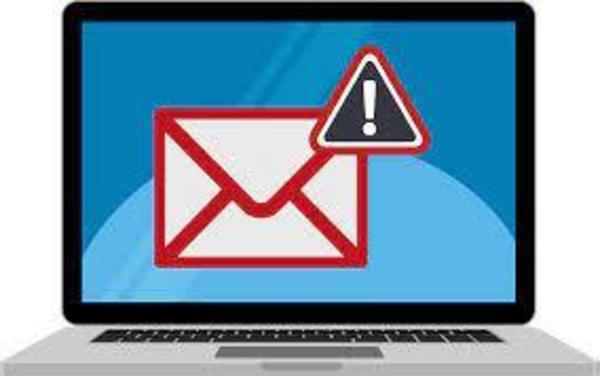 Suspicious email alert