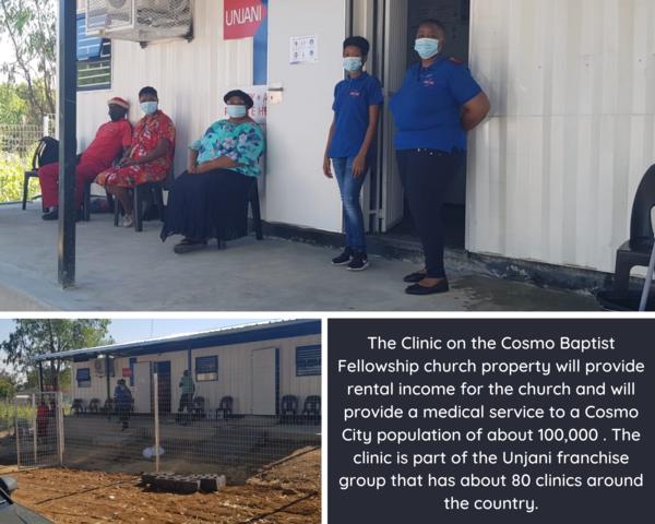 Cosmo Clinic update