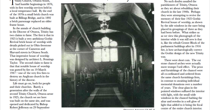 Trinity in the most recent edition of Crosstalk   image