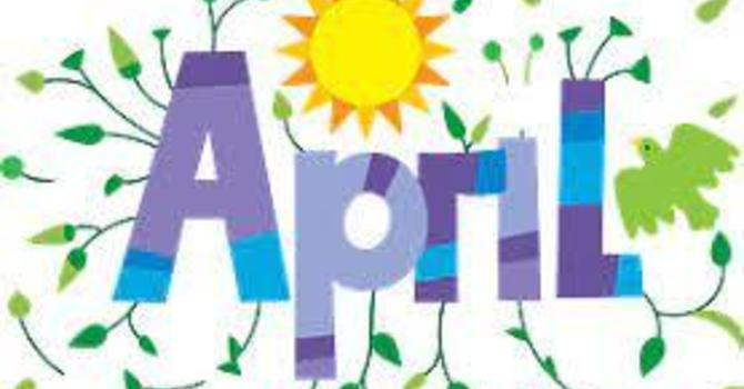 April Newsletter image