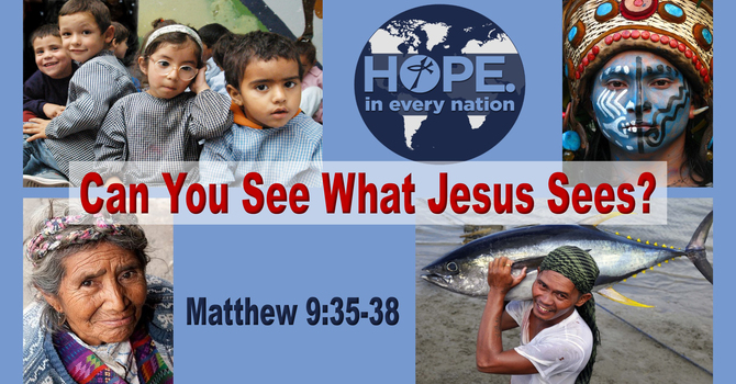 Can You See What Jesus Sees?