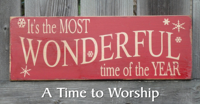 A Time to Worship