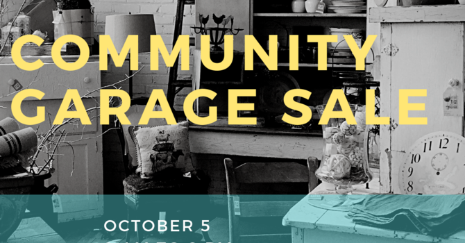 Collecting Items for Community Garage Sale image