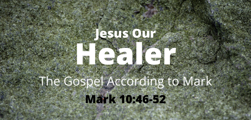 Jesus Our Healer