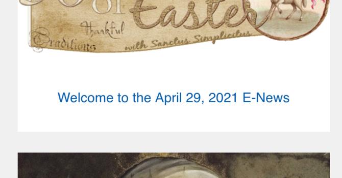 Link to the April 29 E-News image